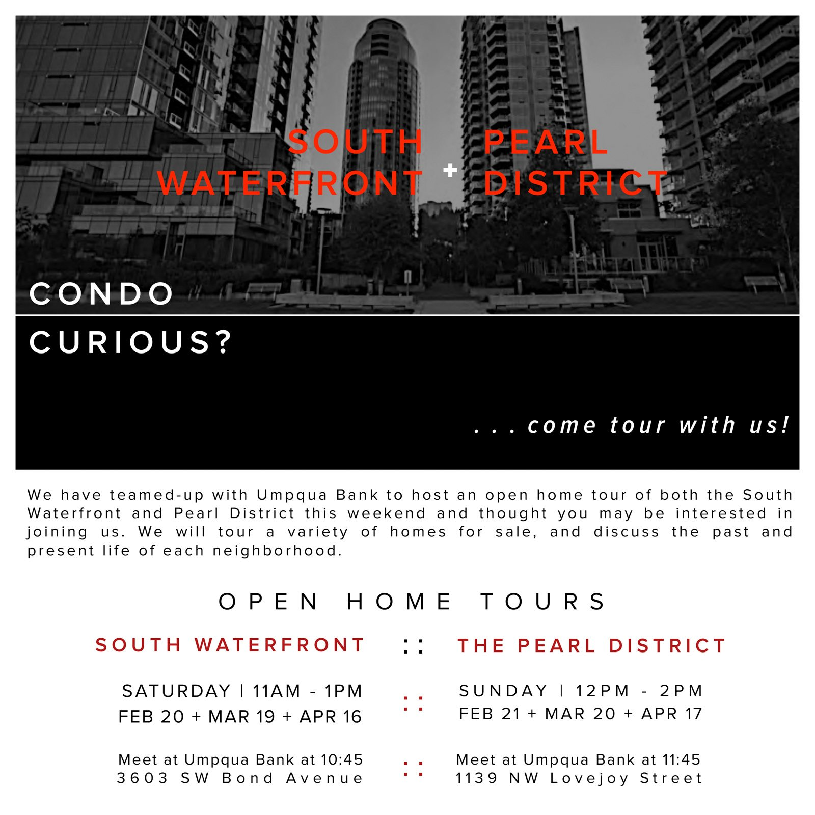 home tours feb - apr